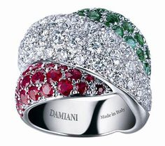 The masterpieces tricolor Damiani .