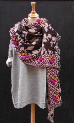 Dante scarf - Plümo Ltd ...freakin love colorful boho scarves...