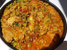 quelque part en Provence Paella, Provence, Curry, Chicken, Ethnic Recipes, Diners, Comme, Food, Simple