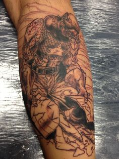Awesome Captain America Tattoo! Still not finished yet