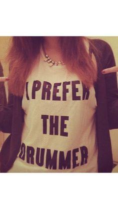 I prefer the drummer t shirt Tumblr cute fashion funny 5sos on Etsy, $17.32