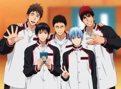 Kuroko no basket...Seirin Team