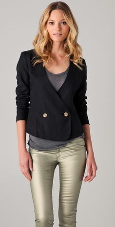 love the back of this blazer $120
