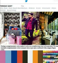 #part3  Do you #like it !? I'll show you:how life with #colors and  the right #palette  of colors and  #psychology colors and #minimalist style is  #luxurious and #beautiful. My new ownwork : Colors #results in a minimalist #style (#fashion - #interiordesign decoration) ----------------------- #iranianmodelluxure;#babakrahimi&@babak_rahimi ______________  #homedesign #exterior #instadesign  #architecture #phdlife  #top #awesome #artist  #photography#makeupartist#genius #obsessed…