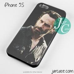 The walking dead rick grimes Phone case for iPhone 4/4s/5/5c/5s/6/6 plus
