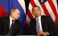 """2013 - 8 de Agosto: Rusia expresó """"decepción"""" luego de que Obama cancelara reunión con Putin - Moscú (EFE). El Kremlin expresó hoy su """"decepción"""" por la cancelación por parte de Washington de la reunión que el presidente de EE.UU., Barack Obama, iba a mantener en septiembre con su homólogo ruso, Vladímir Putin, en Moscú."""