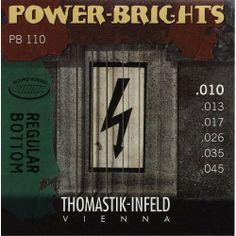 Dr Thomastik PB110 Infield Gtr Pwr Brite Med Lte by Dr Thomastik. $19.34. Dr Thomastik Dr T Power Brights Set Made by Dr Thomastik Model Number: PB109