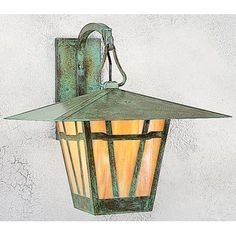 Arroyo Craftsman Westmoreland 1 Light Outdoor Wall Lantern Size: 1