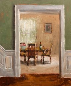 "Paul Healey (Canadian, born 1964) ""The Dining Room"""