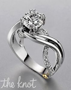 Beautiful wedding ring.