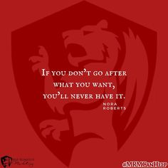If you dont go after what you want youll never have it. #MRMCanHelp #marketinghelp