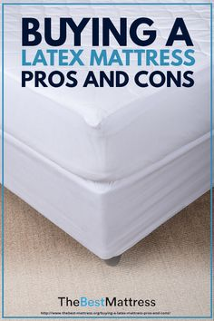 Buying a Latex Mattress: Pros and Cons Best Mattress, Mattress Brands, Latex Mattress, Mattresses, Things That Bounce, Choices, Earth, People, Stuff To Buy