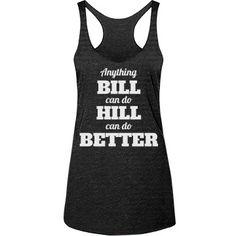 Hillary Clinton 2016 Funny Election Tank Top Shirts