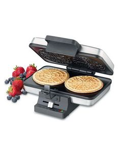 Pizelle Press by Cuisinart.  Pizelles can be flavored with vanilla, almond and anise....! yUM