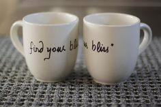 Find your bliss by WeHeartCeramics on Etsy, $11.00