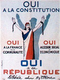 28 septembre 1958 - Référendum sur la Constitution de la Ve République - Herodote.net