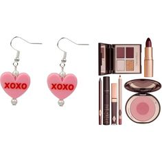Best Friend Birthday Gift Ideas by seoisha on Polyvore featuring interior, interiors, interior design, home, home decor, interior decorating and Charlotte Tilbury