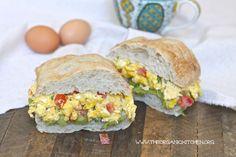 Egg and Avocado Mash Breakfast Sandwich | The Organic Kitchen Blog and Tutorials