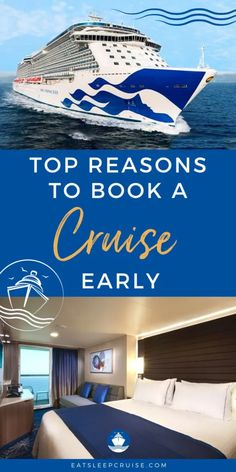 Top Reasons to Book a Cruise Early - When planning a cruise, travelers often debate when is the best time to book a cruise. We share our top reasons to book a cruise early.