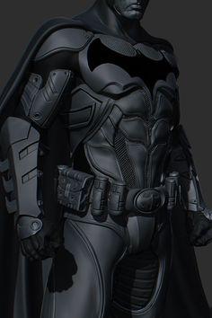 Batman suit detail