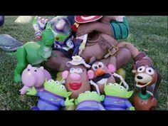 Toy Story Changes Colour Slide n Surprise Playground Color Splash Buddies - Juguetes de Disney - YouTube