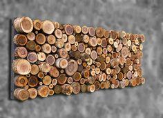 18x48 Tree Branch Wall Art Wooden Wall Sculpture by WoodsNart