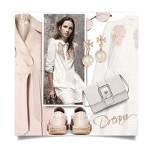 """""""dreamy style"""" by collagette ❤ liked on Polyvore featuring Rebecca Taylor, Miss Selfridge, Sunday Somewhere, Rebecca Minkoff, Tory Burch and Church's"""