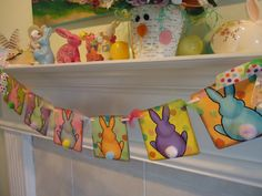 Bunny Butts Easter/Spring Polka Dots by BarbaraARyan on Etsy, $29.00