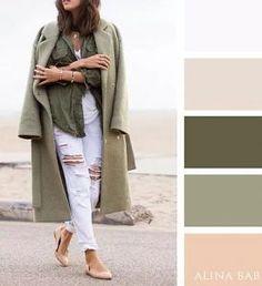 Not the jeans but love this color palette. Colour Combinations Fashion, Color Combinations For Clothes, Fashion Colours, Colorful Fashion, Color Combos, Color Schemes, Color Balance, Color Harmony, Colour Pallete