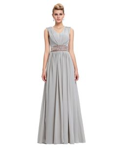 bc10543600cb5 Chiffon-Long-Maxi-Wedding-Bridesmaid-Dress-Cocktail-Evening-Prom-Party-Ball-Gown  · シフォンプロムパーティー舞踏会用のドレスカクテル