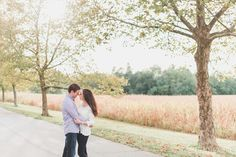 Rustic Fall Pennsylvania Engagement | Brittani Elizabeth Photography