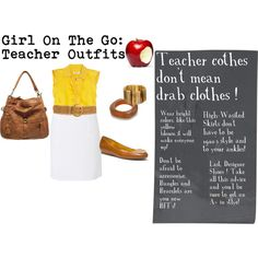 This look is great for a teacher on the go. I like how it's modest enough for the classroom, but still fashion forward :) You didn't think it was possible, did you? Take all these steps and you'll be sure to get an A+ in style! #teacher #fashion #outfitinspiration #outfitideas #teacherfashion #womansfashion #education