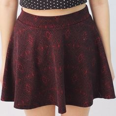 Mosaic Pattern Circle/Skater Skirt This skirt has a beautiful silhouette and can be paired with a Moto jacket and boots for more of a night out look or a cute crop top or tank for a girlier day look! This skirt has no elastic waistband for a comfier fit. All of your friends will be envious of your fabulous new skirt! ⚡️SHIPPED OUT BY NEXT BUSINESS DAY⚡️BUNDLE DISCOUNTS Full Tilt Skirts Circle & Skater