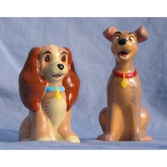 Your WDW Store - Disney Salt and Pepper Shakers - Lady and the Tramp