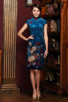 New Sexy Chinese Short Mini Evening Party Prom Fancy Dress Qipao Cheongsam