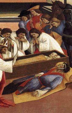 Трое Чудес Санкт Зиновия (деталь). 1500-05, темпера. Национальная галерея, Лондон. http://www.wga.hu/support/viewer/z.html