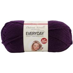 Premier Yarn Deborah Norville Collection 3Pack Everyday Solid Yarn Aubergine -- Learn more by visiting the image link.Note:It is affiliate link to Amazon.