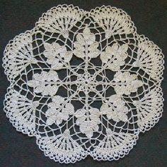 Home Decor Crochet Patterns Part 92 - Beautiful Crochet Patterns and Knitting Patterns Free Crochet Doily Patterns, Crochet Motif, Crochet Designs, Free Pattern, Knitting Patterns, Thread Crochet, Filet Crochet, Irish Crochet, Crochet Dollies