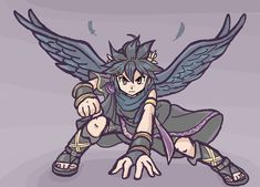 Find This Pin And More On Kid Icarus By Kleinstee