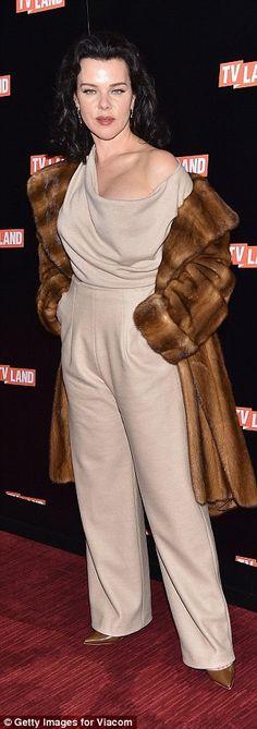 Red carpet: Entourage's Debi Mazar was joined by talk show host George Lopez...