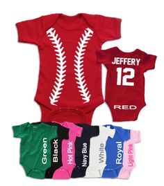 4bf7e2032 Baseball Jersey Personalized with Name and Number