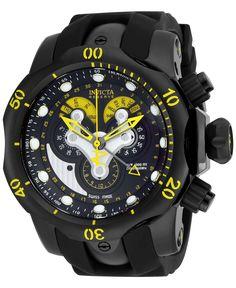 Invicta Men's Chronograph Reserve Venom Black Polyurethane Strap Watch 54mm 14459 - Men's Watches - Jewelry & Watches - Macy's