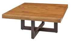 Amish Xcell Square Coffee Table Which wood will you select for your new Xcell? Contemporary style accent table made in Amish country.