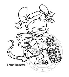 Henry Mouse with Lantern