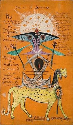 Find the latest shows, biography, and artworks for sale by Leonora Carrington. Painter and novelist Leonora Carrington redefined female symbolism and imagery… Max Ernst, Culture Art, Art Brut, Mexican Artists, Illustration, Art Abstrait, Outsider Art, Surreal Art, Art History