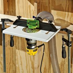 603 best router images on pinterest tools woodworking plans and dewalt dwp611pk compact router wtrim router table and dust port keyboard keysfo Choice Image