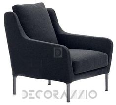 Antonio Citterio, кресло B&B Italia Edouard, ED83_V