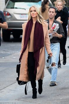 Nude: Kristin Cavallari was looking positively beautiful when she stepped out in West Hollywood, California, on Monday