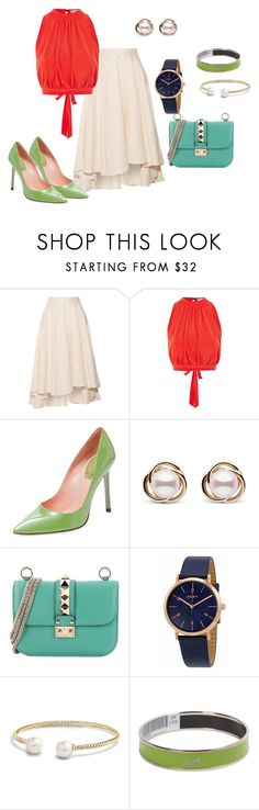 """Light Magic"" by dialt-troffi on Polyvore featuring мода, Miguelina, Love, Trilogy, DKNY, David Yurman и Hermès"