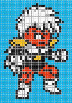 Jeice - Dragon Ball perler bead pattern